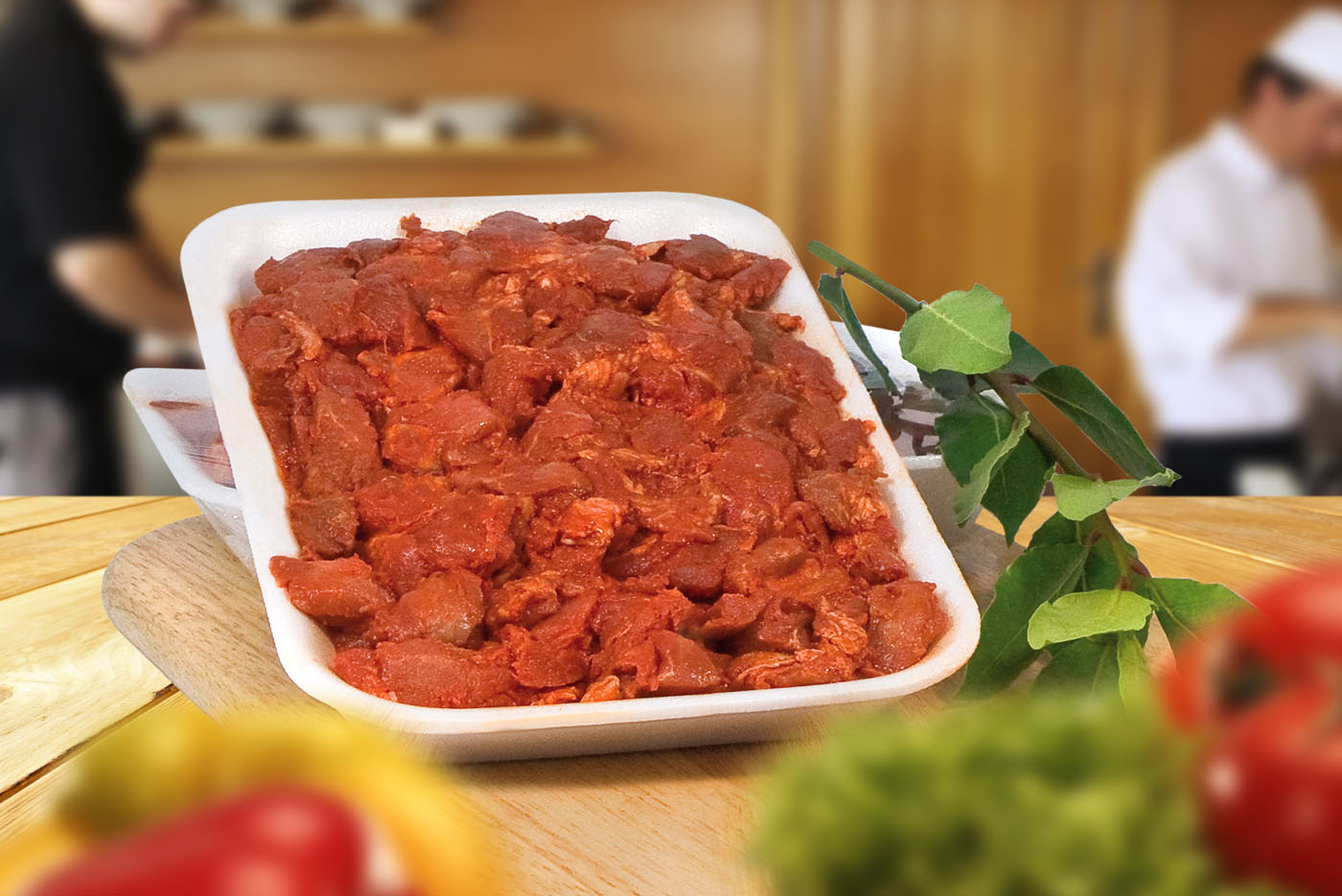 Chuletero de cerdo Productos Cárnicos Domínguez