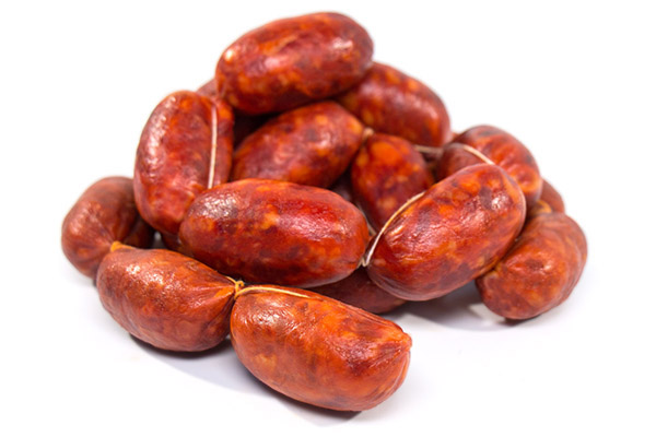 Chorizo gallego pinchito