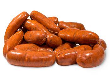 Chorizos barbacoa, Productos Cárnicos Domínguez